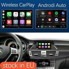 Bezprzewodowy interfejs Apple CarPlay Android dla Mercedes Benz CLS W218 2011 2015, z funkcjami odtwarzania samochodów MirrorLink AirPlay