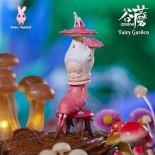 Blind-Box-Toys Figures Guess-Bag Fairy Anime Cute Garden Ciega Model Birthday-Gift-Ornaments