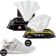 Lingettes humides pour chaussures blanches, brosse de lavage de chaussures jetables, nettoyage de chaussures, décontamination, nettoyage de baskets, soins THN