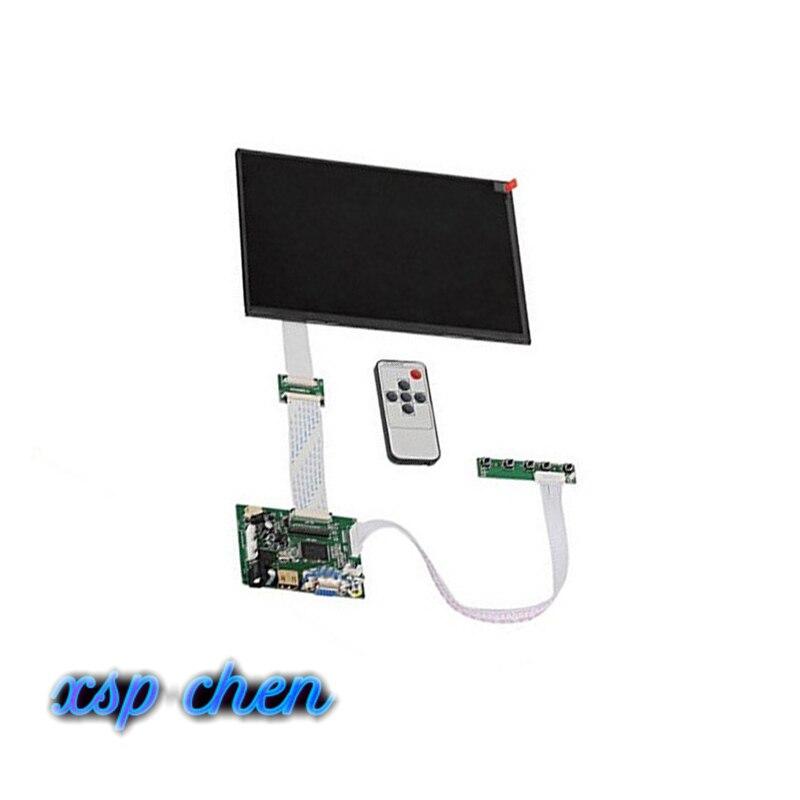 10.1 IPS For Raspberry Pi Monitor 1280*800 TFT EJ101IA-01G Driver Board Monitor HDMI VGA AV LVDS 2AV For Raspberry