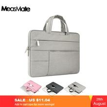 OGmeas حقيبة لاب توب شنطة لحمل macbook الهواء 13 حالة النايلون محمول حالة 15.6 11 14 15 بوصة حقائب للرجال النساء سستة للجنسين على ظهره