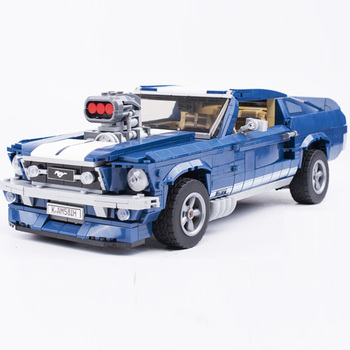 2020 IN Stock  Creator Expert Ford Mustang Compatible 21047 10265 Set Building Blocks Bricks Assembled Toys Gifts 1