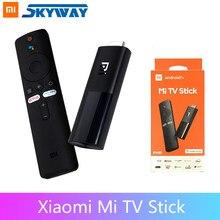 Xiaomi Mi TV Stick глобальная версия Android TV 2K ТВ-приставка четырехъядерный процессор 1Гб RAM 8Гб ROM с Bluetooth, Wi-Fi, Netflix и Google Assistant