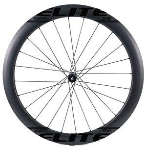 Image 3 - ELITEWHEELS 700c disk fren karbon tekerlekler DT İsviçre 240 için Cyclocross çakıl bisiklet tekerlek kattığı tübüler Tubeless jant kral