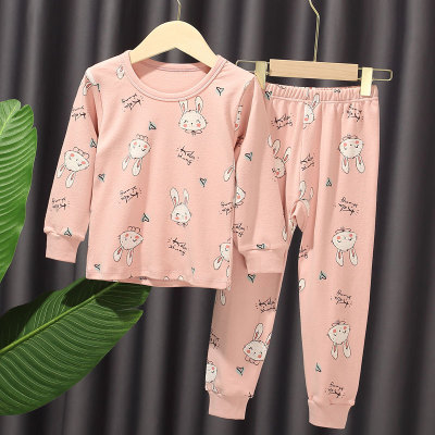 VIDMID New Children Pajamas Set Soft Cotton clothes suits  Cartoon Animal Sleepwear Boy Clothing Suit Pajamas Nightwear 4248 01 5