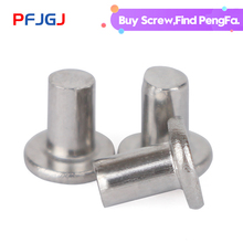 Peng Fa 201 Stainless Steel Flat Head Rivet Willow Solid M3 M4 M5