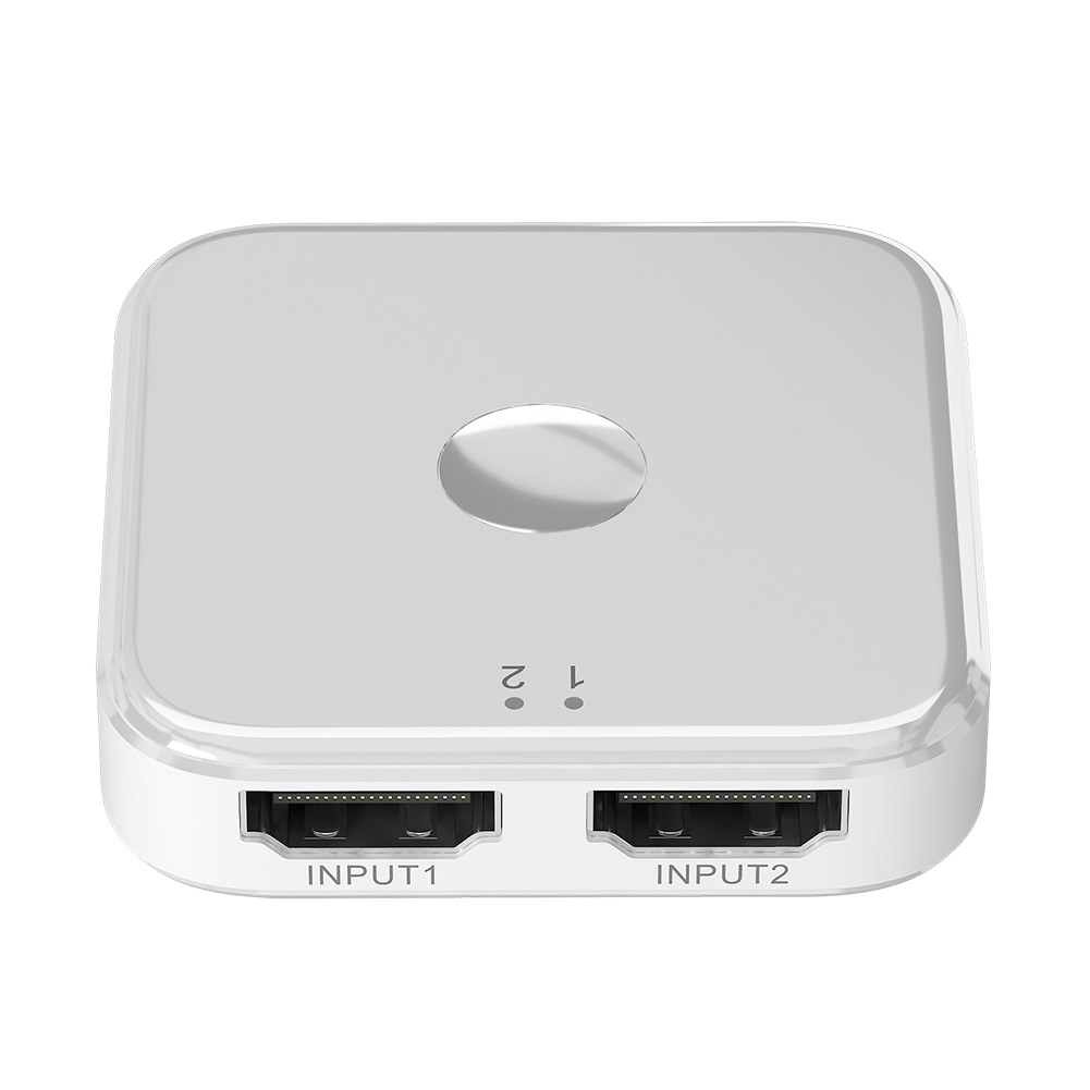 2 Port HDMI Switch Bi-Directional Lightness Portability Convenient Carrier 1x2 2x1 3D 4K HDMI Switcher For Xbox PS4