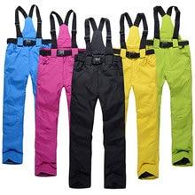 Suspenders-Trousers Ski-Pants Snowboard Waterproof Women Warm Winter Outdoor Sports High-Quality