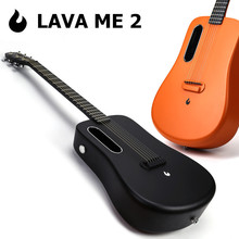 LAVA ME 2 36 inch Electric Guitar 6 Strings Classical Guitar Top Carbon Fiber Guitar With Electric Box Free Shipping free shipping wholesale hot selling silver pink 6 strings natural wood electric guitar 150604