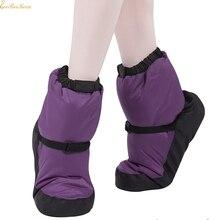 Ballerina Ballet Warm Up Booties Women Ballet Point Warm Shoes Ballet Dance Boot For Children Adult Autumn Winter Ballet Shoes