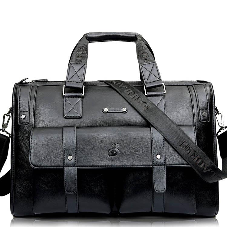 Sac à main en cuir véritable pour hommes sac à main pour hommes grande capacité voyage pochette d'ordinateur Vintage pour hommes sacoche Oblique pour hommes