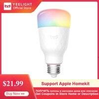 Yeelight Smart LED Bulb 1S YLDP13YL 8.5W RBGW Work With Mijia Homekit AC100 240V 1700K 6500K E27 800lm Desk Floor Table Lamp