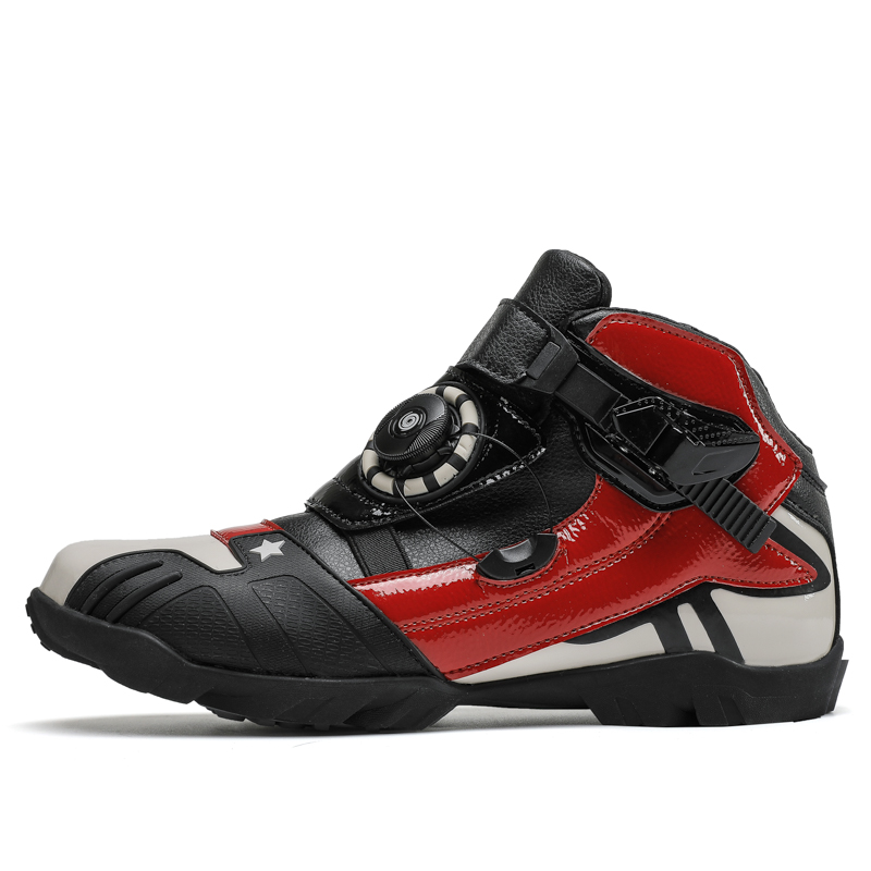 EISEN JIA'S Motorrad Schuhe Atmungsaktive Städtischen Stree Moto schuhe Schutz Motorrad Motocross Motorrad Reiten Stiefel
