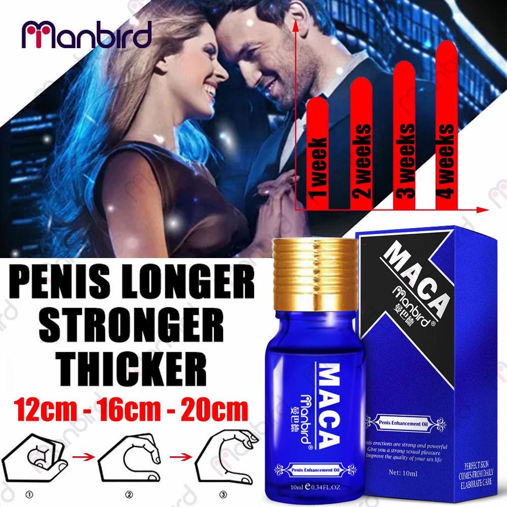 Penis Enlargement Oil Enhancers Bigger Cream Care Penis Enlarge Oil Growth Pills Viagar Male Maca Dick Thickening Erection Pills