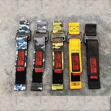 Ремешок нейлоновый для samsung galaxy watch 3 45 мм, классический спортивный браслет для huawei GT2pro 46 мм, 22 24 26 мм