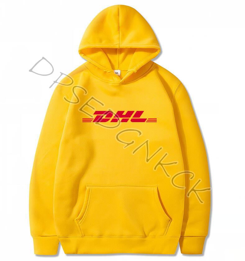 Spring Autumn Brand Paris Fashion  Air Transport DHL Hoodies  Men Yellow Hoodies Sweatshirts Men And Women Sweatshirt Tops A9