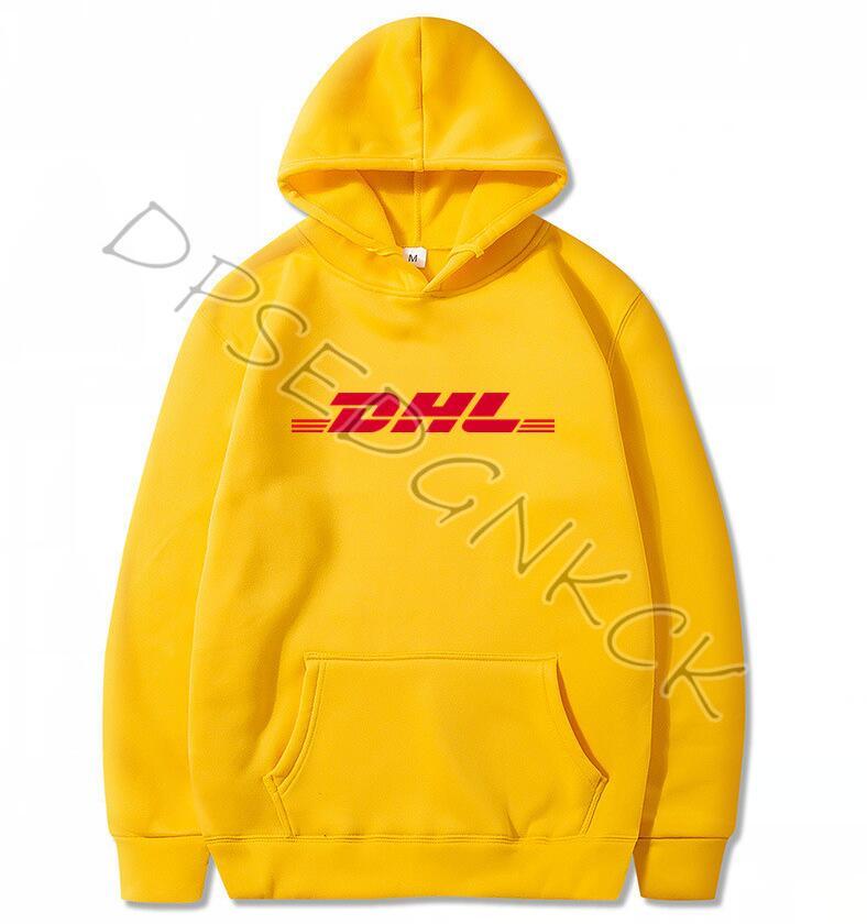 Spring Autumn Brand Paris Fashion  Air Transport DHL Hoodies  Men Yellow Hoodies Sweatshirts Men And Women Sweatshirt Tops A9