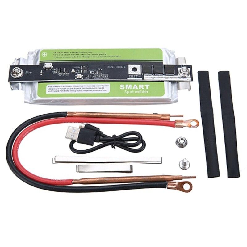 Portable DIY Mini Spot Welder Machine 18650 32650 Battery for Soldering Machine Spot Welding Tool with Copper Solder Pen