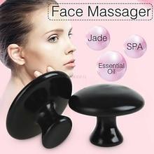 Heater Massager Mushroom Stones-Set Face Bian Basalt Spa Meteorite 1pcs