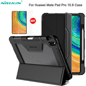 NILLKIN iPad Case Pencil-Holder Smart-Cover Huawei Matepad for with Pro