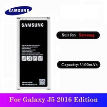 5pcs/lot High Quality EB-BJ510CBE Battery For Samsung Galaxy J5 2016 Edition J510 J510FN J510F J510G EB-BJ510CBC Bateria original replacement samsung battery for galaxy 2016 version j5109 j5108 j5 sm j510 genuine eb bj510cbe eb bj510cbc 3100mah