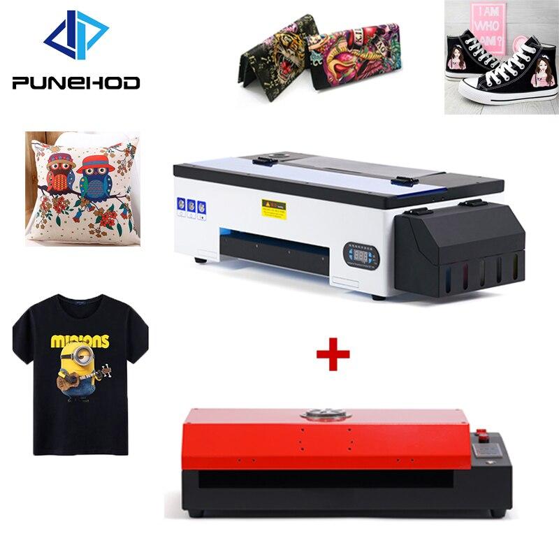 Принтер Punehod, размер A3, DTF + ПЭТ-пленка, Печатающая машина для футболок
