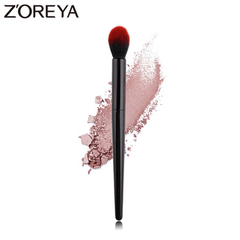 ZOREYA Brand Soft Animal Hair Powder Highlighter Makeup Brush Essential Cosmetic Tool For Make Up Eyeshadow Concealer Blush Red