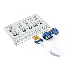 Waveshare 800x480 7.5 بوصة E حبر قبعة E حامل عرض أوراق يدعم التوت Pi STM32 لونين فائقة منخفضة استهلاك الطاقة
