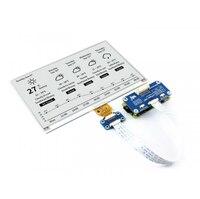 Waveshare 800x480 7,5 pulgadas e-ink HAT e-paper display soporta Raspberry Pi STM32 dos colores Ultra bajo consumo de energía