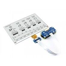 Waveshare Pantalla de papel electrónico de 800x480, 7,5 pulgadas, compatible con Raspberry Pi STM32, dos colores, Ultra bajo consumo de energía