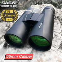 SAGA High Power Binoculars 8x 10x 12x56 Telescope Ultimate Caliber ED lens for Adults Camping Hunting Bird Watching Outdoor tool