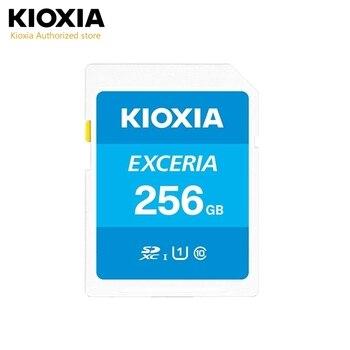(Formerly Toshiba) Kioxia 256GB/128GB/64GB/32GB/16GB Exceria SD Memory Card SDXC UHS-I U1 Class 10 Read 100MB/s SD card