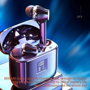 Image 3 - Essager 07B tws ワイヤレス bluetooth 5.0 イヤフォン指紋タッチ xiaomi 用ヘッドセットハンズフリー真のワイヤレス