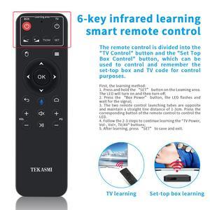 Image 4 - Q9 voz controle remoto 2.4g microfone sem fio bluetooth ir aprendizagem para pc tv projetor android caixa de tv h96 max x96 hk1 mini