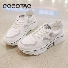 Fall 2019 New Low-top Shoes Womens Young And Middle-aged Fashion Joker Sports Casual Students Flat-bottomed Running Shoes27