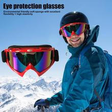 1Pcs Winter Windproof Skiing Glasses Goggles Outdoor Sports Eyewear Dustproof Moto Cycling Sunglasses