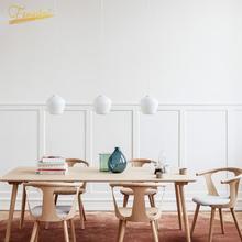 Nordic Personality Interior Pendant Lamp Lighting Modern LED Glass Loft Pendant Lights Bedroom Kitchen Living Room Hanging Lamp modern led bar pendant lights minimalism nordic loft dimming simple pendant lamp living room bedroom hanging lamp kitchen lustre