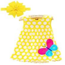 Г. Платье для маленьких девочек, 1 шт. Лидер продаж, летняя стильная одежда для маленьких девочек летнее платье в цветочек специальное предложение