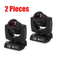 цена на Fast shipping 2pcs/lot Zoom Moving Head Light Beam 7R Spot Light Stage DJ Disco Party Night Club