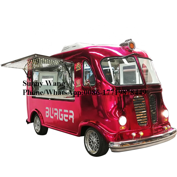 Electric Cotton Candy Crepe And Ice Cream Food Truck Mobile Coffee Trucks Fast Food Truck For Sale