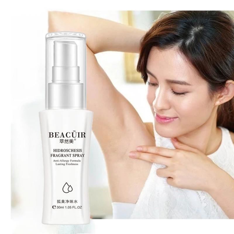Deodorants Spray Reduce Sweat Odor Underarm Antiperspirant Spray Deodorant For Men Women Body Care