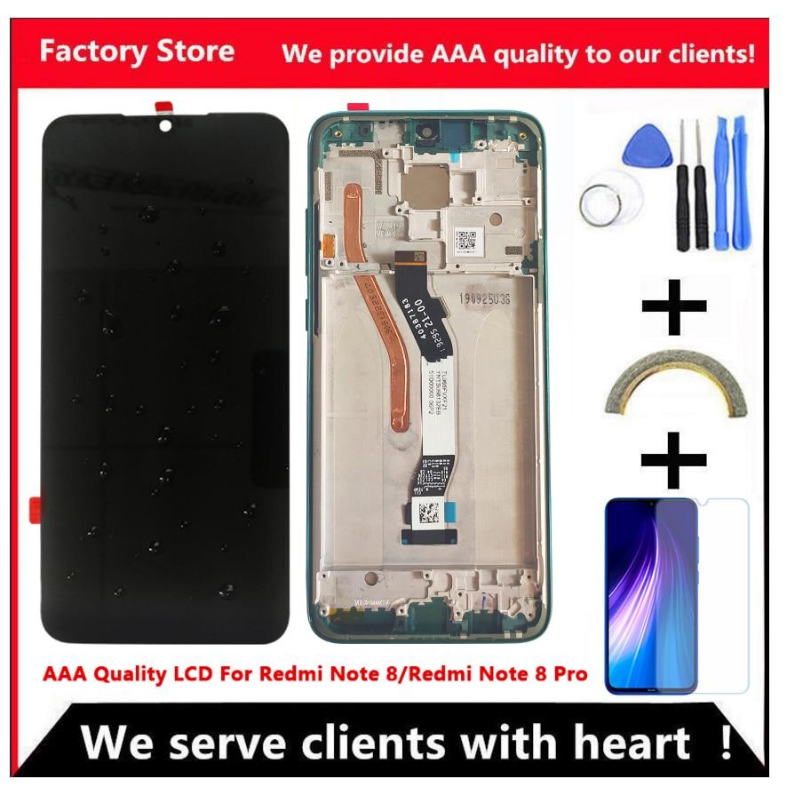 10-dotykowy AAA jakości wyświetlacz LCD dla Xiaomi Redmi Note 8 wyświetlacz LCD ekran dla Redmi Note8 Pro wyświetlacz LCD ekran