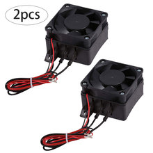 Car-Fan Air-Heater Conditioning Ptc-Heating 12V for Insulated 2PCS Portable 120W