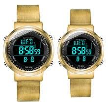 Модные часы для влюбленных водонепроницаемые женские мужские