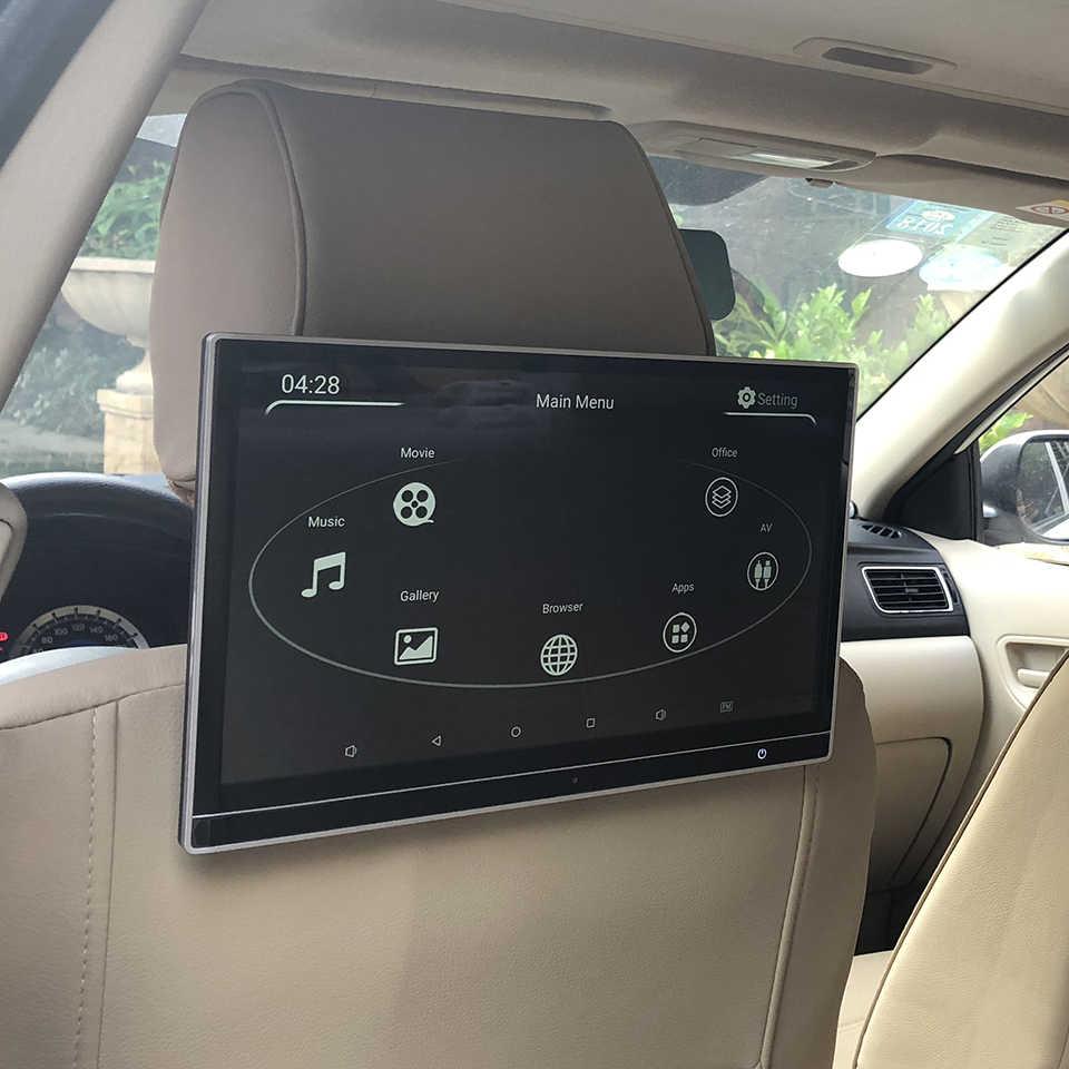 12.5 インチ車スクリーンアンドロイド 7.1 ヘッドレストモニターアウディ A1 A3 A4 A5 A6 A7 A8 Q2 Q3 q5 Q7 後部座席エンターテイメントシステム