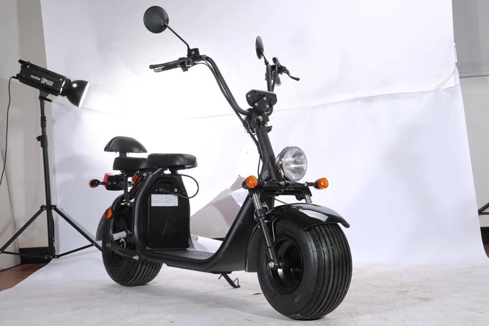 (STOCK ue) sc11 + route juridique cee/COC 1500w 60v12ah batterie amovible citycoco hors route électrique ville coco scooter