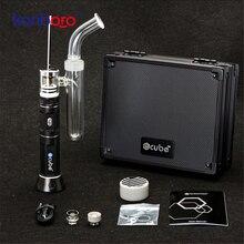 NEW 100% Kanboro ecube Boost erig dabado vape Dry Herb vape pen wax Vaporizer Dr Dabber Supplier Nail Device Portable vapor kit
