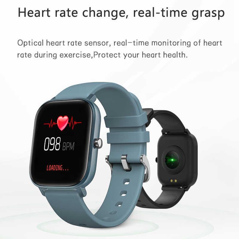 Luik Nieuwe Slimme Horloge Mannen 1.4 Inch Full Touch Screen Hartslag Bloeddruk Multifunctionele Smartwatch Ondersteunt 13 Talen