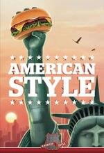 Металлический оловянный плакат в американском стиле для столовой