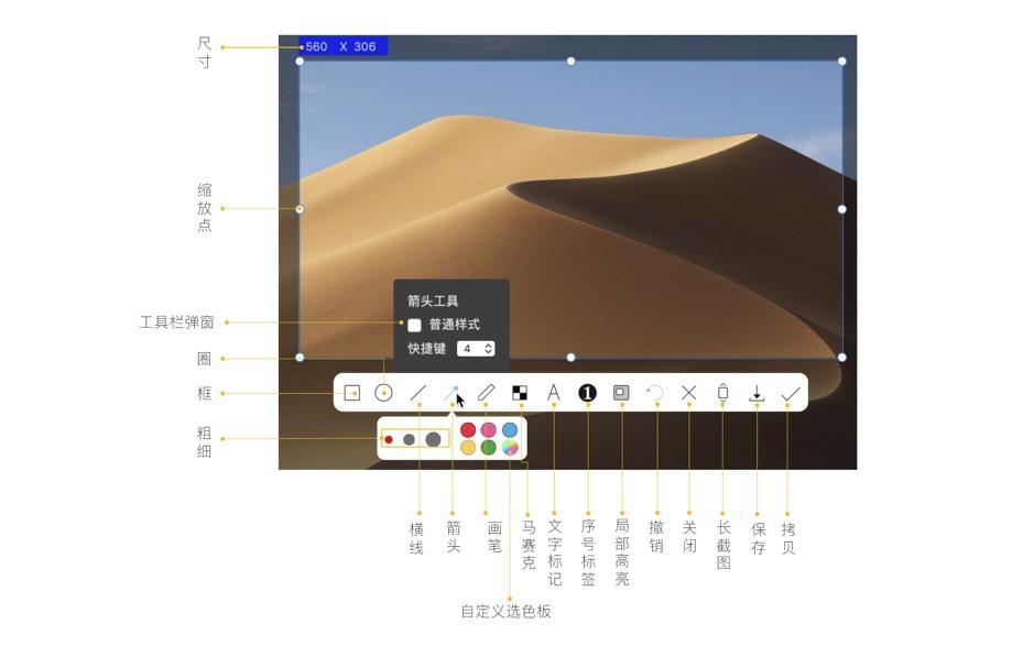 iShot:macOS上优秀的截图工具